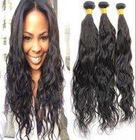 Wholesale Genesis Hair Wholesale - Cheap Genesis Natural Wave Hair Extensions, Virgin Malaysian Natural Wave Hair Weave 2pcs lot Natural Color