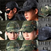 Wholesale Military Cheap Baseball Caps - Wholesale-2015 Boa Military Cap Grain Wholesale Snapback Hats Cap Baseball Cap Golf Hats Hip Hop Fitted Cheap Polo hats men women Sun Hat