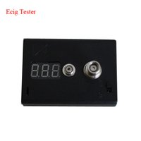 Wholesale Ego Meter - The cheapest over the internet coiled vapor Ohm Reader Vaporizer Atomizer & Cartomizer ohms Meter  resistance reader for 510 ego  RBA RDA
