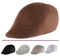 Neue Mesh Breathable Cool Cabbie Newsboy Gatsby Hut Unisex Beret Cap
