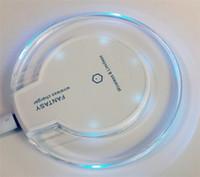 ingrosso qi caricatore in vendita-2015 vendita calda wireless ricaricabile Qi ricarica mini pad per Samsung S6 / S6 bordo 5/4 iPhone 4S / 5S / 6/6 PLUS
