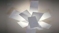 büyük patlama ışıkları toptan satış-Sıcak satış Foscarini Big Bang Tavan Lambası Modern Tasarım Aydınlatma Beyaz Renk Metal Malzeme Ücretsiz Kargo