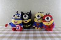 Wholesale minion plush stuffed online - 9inch The Avengers Plush dolls cm plush toy anime toys minions cartoon baby dolls Stuffed toys soft