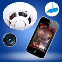 UFO Form Spion Kamera Wireless P2P WIFI Kamera Versteckte Rauchmelder IP Kamera Spion Video Recorder Home Security Wifi Kamera