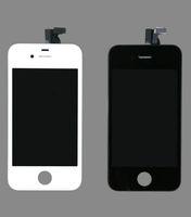 outils d'assemblage iphone achat en gros de-Gros-noir et blanc verre + écran LCD + Assemblée Digitizer écran tactile + Outils de remplacement pour iPhone 4 4G, livraison gratuite