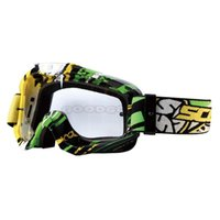 Gros-SCOYCO Motocross Off-Road Racing Lunettes anti-buée Ski Snowboard Replacement Lens Lunettes de moto DH Dirt Bike Riding Eyewear