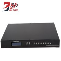 SZBITC LCD TV HDMI Matrix 4X4 Switch 4 entrada 4 saída HDMI Switcher 4k2k 3D 60Hz Video Wall Controller
