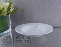 Porcelain oval dinner set - 7 quot Oval Stewed Soup Bowl ceramic round dinner bowl tableware set hotel supplies home decoration Rice Bowl Kitchen supplies Tableware