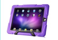 2015 híbrido dropproof Defender Back Cases Covers Impermeável Shock Proof Proteção Silicone Híbrido PC Shell Ipad 2/3/4 5 ipad Mini 2
