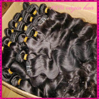 Wholesale hair weave uk resale online - 5 Kilo Bundles only Top Quality A Raw Unprocessed Virgin Hair Wavy Natural Colors Can be Dyed Silky Texture Ship to USA CA UK ect