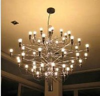 Wholesale Gino Sarfatti Chandelier - Mod 2097 Chandelier Gino Sarfatti 18  30  50 Heads Pendant Lamp Lights Lighting Fixtures Lluminaire