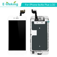 Wholesale iphone complete front screen assembly for sale - Complete LCD Display For iPhone S S Plus Touch Screen Digitizer Assembly with Home Button Front Camera Free DHL Shipping