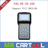 Wholesale Auto Key Transponder Tool - 2015 Newly V45.09 CK-100 CK100 Auto key transponder key programmer tool Support Till 2014.09 vehicle DHL Free shipping