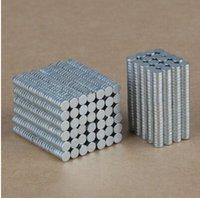 Wholesale Magnet Gadgets - Wholesale-Wholesale 0.9mm Super Strong Magnets Set DIY tiny Magnetic Gadgets - 1000Pcs Free Shipping