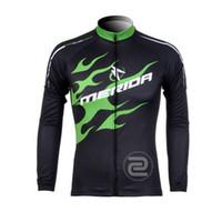 Wholesale Cycling Merida Long - 2017 Pro Team Merida Cycling Clothing Men long Sleeve jacket Cycling Jerseys bike clothes mtb bicycle maillot ropa ciclismo C0128