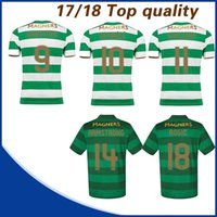 8db4c5fa3 Soccer Men Short 17 18 Celtic FC Home Soccer Jersey Away Short sleeve soccer  shirt Celtic