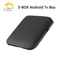 S-BOX Android TV Box Android 6.0 Amlogic s905X Quad Core 2 GB RAM 16G ROM WIFI Bluetooth 4.0 Lettore multimediale Ricevitore TV