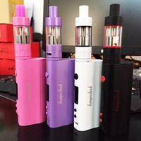 Wholesale E Cigarette Starter Kit Kanger - Kanger Subox Nano Starter Kit with 3ml Subtank Nano Atomizer High Clone 50W Kbox nano E Cigarette Kit VS Subox Mini Free Shipping