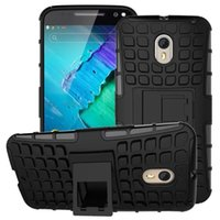 Wholesale Moto Tires - Spider Tire Hybrid Rugged Kickstand Shockproof Case For Moto X Style XT1570   X Play Hard Plastic Soft TPU Dual Color Fashion Square Cover