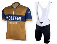 Wholesale Retro Bikes - MOLTENI ARCORE RETRO mens Ropa Ciclismo Cycling Clothing MTB Bike Clothing  Bicycle Clothes 2018 cycling uniform Cycling Jerseys 2XS-6XL P5