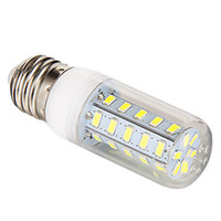 Wholesale E27 Led Bulb 9w Lumen - Warm White E27 LED Corn Bulb Light 5W 7W 9W 12W hight Lumen Cree SMD 5730 With Cover 56 leds GU10 E14 G9 Office Lights