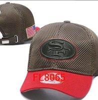 Wholesale Animals San Francisco - hot sale San Francisco sf hats Men USA FLAG camo snapbacks Cool Women Sport Adjustable Caps Hats snapbacks Accept Drop ship