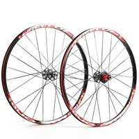 "Wholesale Sram Clincher Wheels - WHEEL UP MTB 26"" Wheels Wheelsets-ONE Black Red for SHIMANO SRAM 8S 9S 10S Bicycle Parts"