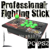 Trasporto All'ingrosso-Libero !! GC-LFB Pro Fighting Stick Super Street Fighter IV PC PS2 8 Chiave, joystick, joypad, controller di gioco