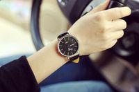 Wholesale W Watches - Luxury Brand Sport Relojes Hombre Daniel W Men Relogio Masculino Quartz Watches Female Clock Montre Femme Reloj Mujer