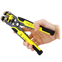 Wholesale Ratchet Terminal Crimp Crimping Tool - Multi-function Ratchet Wheel Save Effort TAB Terminal Crimping Press Pliers Tool Hand Tool Cutting and Stripping Wire +NB