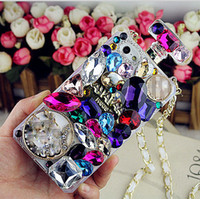 Wholesale Luxury Galaxy S3 Case - Wholesale Glitter rhinestone silicone perfume phone cases luxury fashion girls case cover For Samsung galaxy s3 s4 s5 s6 s6edge note3 note4