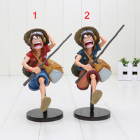 7 '' 18cm One Piece Monkey D Luffy PVC Action Figure Collectible Model Toy 2 Colors Pode escolher o estilo
