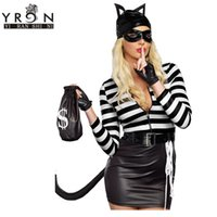 Wholesale Top Selling Adult Costumes - Wholesale-Newly Adult Sexy Cat Burglar Costume LC8900 Top Selling Wholesale Price 2016 Sexy Nightwear Cosplay Bunny & Cats Costume