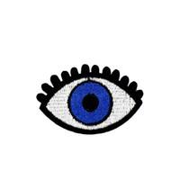 ferro aplique olhos venda por atacado-10 PCS Olho do Demônio Patches para Sacos de Roupas de Ferro em Applique Patch de Transferência para o Vestuário Jeans DIY Costurar em Acessórios Bordados