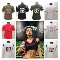 Las Mujeres Baratas S Camisetas Deportivas Baratos-Mujeres Lady Stitched Limited BRADY 87 GRONKOWSKI Jerseys Sport Shirt Mens Jerseys HOT Sale Free Cheap Jerseys