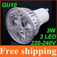 Wholesale power save spotlight bulbs resale online - LED Bulbs GU10 GU5 MR16 E27 Home lights led Spotlights Dimmable led lighting W K Cold White v Energy Saving