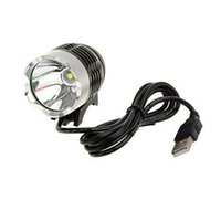 Wholesale Led Lights For Bicycles - LED Headlamps Waterpoof Bike Light CREE XM-L T6 USB icycle Headlight Headlamp For Bike Cycling Bicycle 3 Mode Front Light