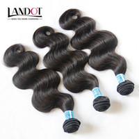 9A Grau Onda do corpo indiano Virgin Cabelo humano Weave Bundles 3Pcs Unprocessed Raw Indian Remy Hair Extensions Thick Soft Full Hair Double Wefts