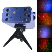 Wholesale Light Display Projector - Wholesale-yx-036 Laser Projector For DJ KTV Disc Party Stage Light laser display projector light g6