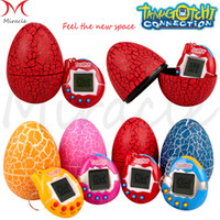 Wholesale battery operated children toys - Tamagotchi Digital Pets Funny Virtual Cyber Electronic Pet Child Toys Dinosaur egg Retro Kids Game Nostalgic S