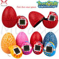 yumurta çocuk oyuncağı toptan satış-Tamagotchi Dijital 49 Evcil Komik Sanal Siber Elektronik Pet Çocuk Oyuncakları Dinozor yumurta Retro Çocuklar Oyun Nostaljik 90 S