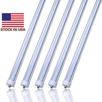 "Wholesale 36w Bulb - 8ft led tube lights fa8 8 feet Ft Single Pin 36W 45W T8 LED Fluorescent Tubes 96"" bulbs Lamps 2400MM tubes cooler lighting"