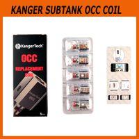 Wholesale Kangertech Replacement Coils - Authentic Kanger vertical Subtank OCC Coil 0.15ohm Ni200 0.2ohm 0.5ohm 1.2ohm 1.5ohm kangertech Replacement Coil 100% genuine 2211040