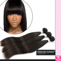 3pcs remy haar verkäufe großhandel-König Haar Billig Remy 100 Menschenhaar Produkt Unverarbeitete Kinky Straight 3pcs Ali Königin Haar Produkte brasilianisches reines Haar Verkauf Mocha Haar