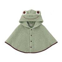 Wholesale Wholesale Fleece Jumpers Boy - Wholesale-2015 Fashion Combi Baby Coats boys Girl's Smocks Outwear Fleece cloak Jumpers mantle Children's clothing