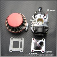 Wholesale 2 stroke pocket bike mm carburetor set carb amp air filter for kids mini bike ATV with cc cc engine