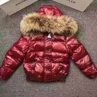 Wholesale Velvet Children S Clothing - Children Boys Down Coat New Winter 2017 Brand Fashion Hooded Kids Clothes Casual Thick Parka Warm Goose Down Jacket Outwears Free Shipping