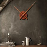 Wholesale Mechanical Wall Clock Gears - Clock Mechanism Rust Clock Gear Wall Clocks Accessories Long Pointer Core Shell Table Saat Horloge Murale Reloj Duvar Saati Klok