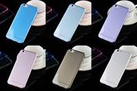 lg g3 handy fällen großhandel-0,3 mm TPU Fall Crystal Clear Handy-Fällen Abdeckung für iPhone 6/6 Plus 4 4 s 5 5 s für LG G2 G3