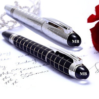 Wholesale Good Financing - Low price Wholesale - 9 style good quality MB Roller ball   Ballpoint   Fountain pen with school office supplies MT brand writing gift pens